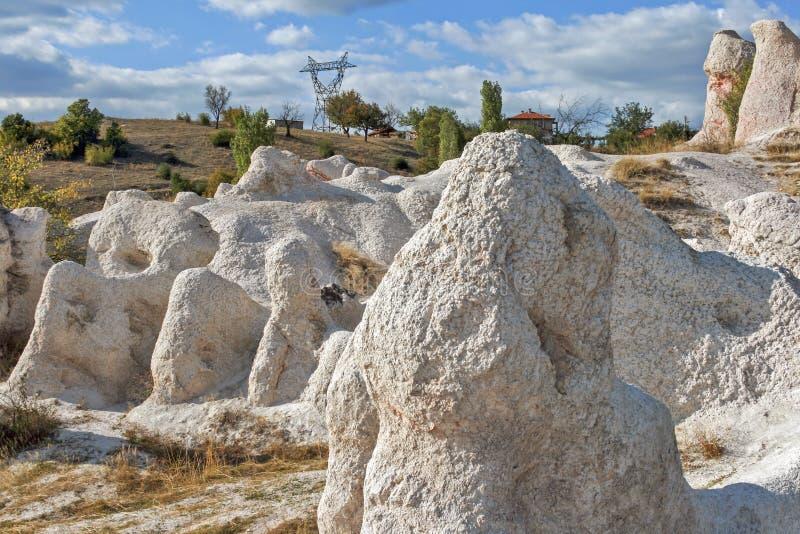 Свадьба горной породы каменная около городка Kardzhali, Болгарии стоковое фото
