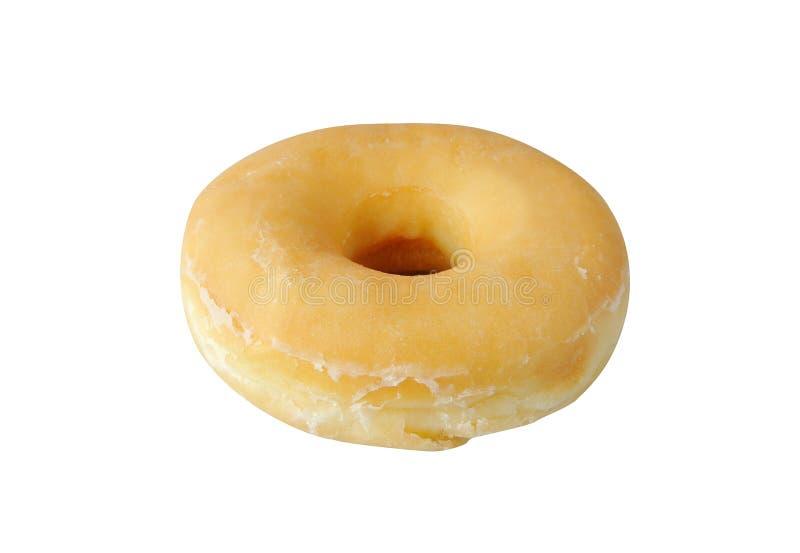 Свежие вкусные donuts изолированные на белой предпосылке стоковая фотография rf