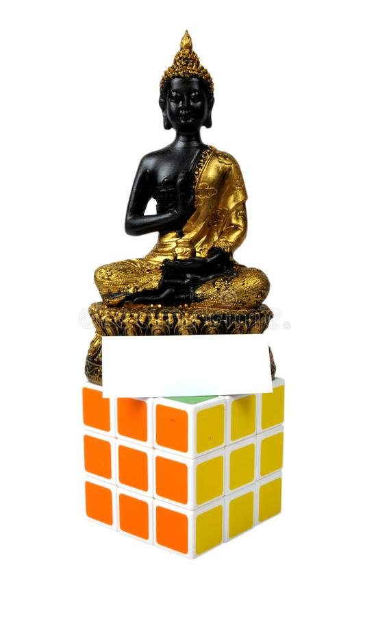 символ мира Будды стоковая фотография