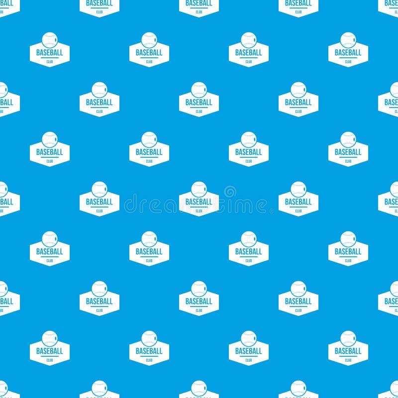 Синь вектора картины бейсбола безшовная бесплатная иллюстрация