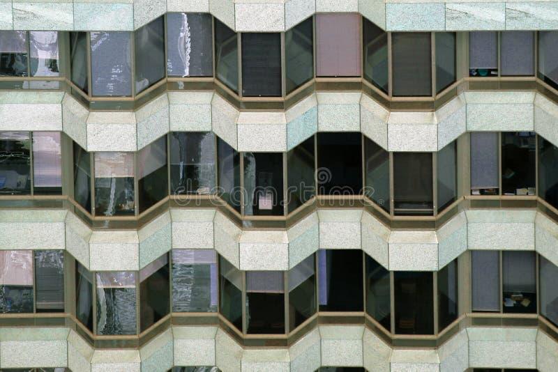 Сиэтл, США, 31-ое августа 2018: Современное офисное здание, предпосылка стоковое фото rf