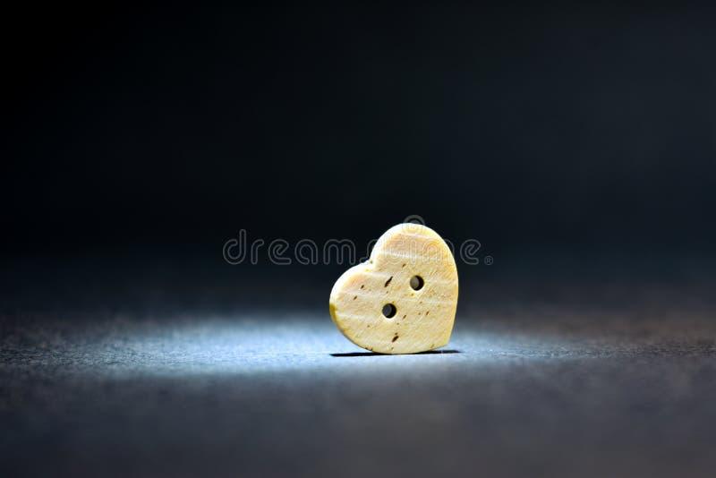 Сиротливая тоска скорбы тоскливости сердца стоковое фото