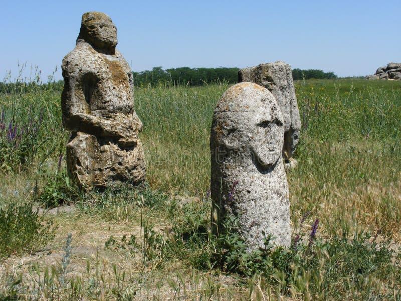 Скифские Бабы, памятники , идолы, Украина до нашей эры. royalty free stock photography