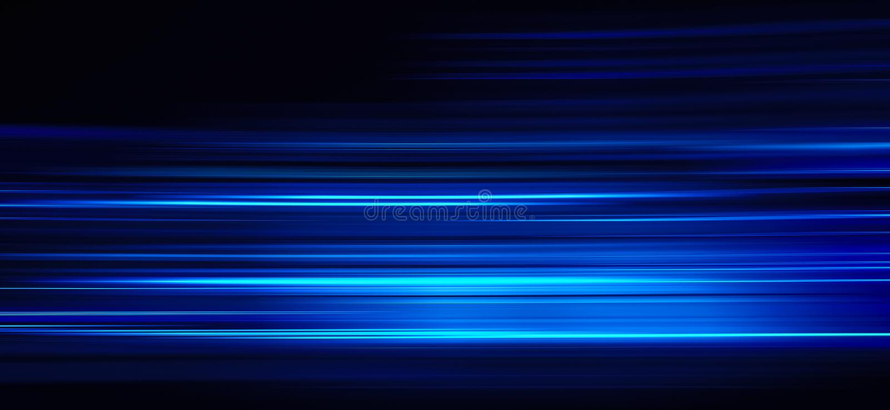 Следы конспекта голубые светлые стоковые изображения