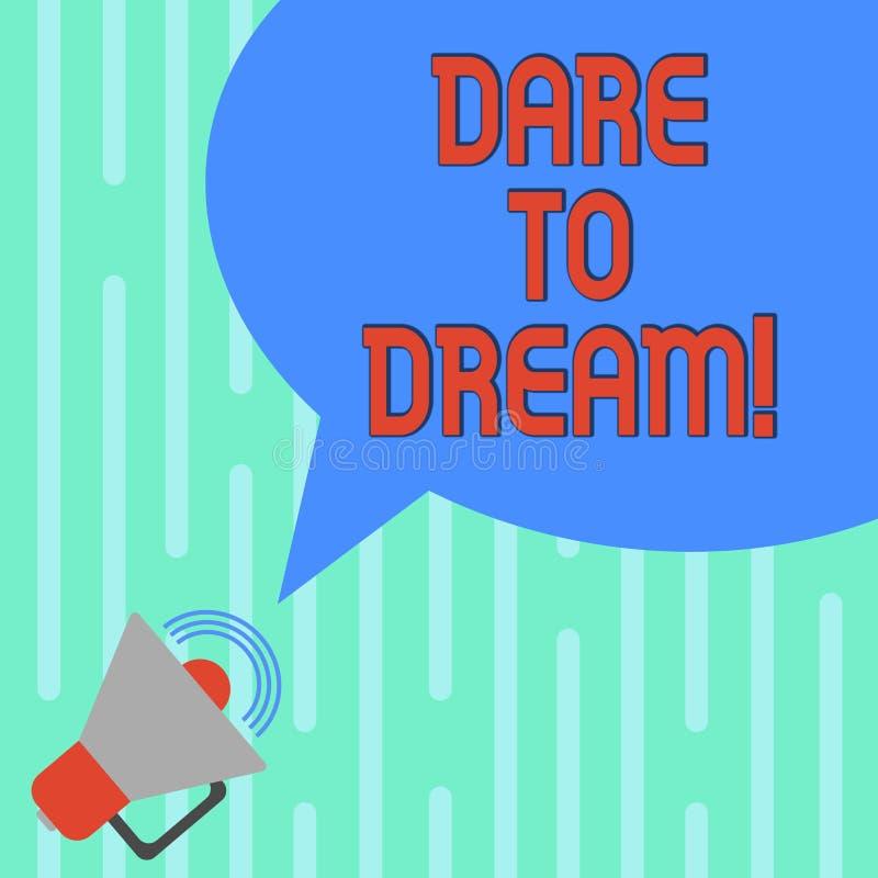 Слово писать вызов текста мечтать Концепция дела ибо не испугана имеет больший мегафон задач целей гоноров с иллюстрация штока