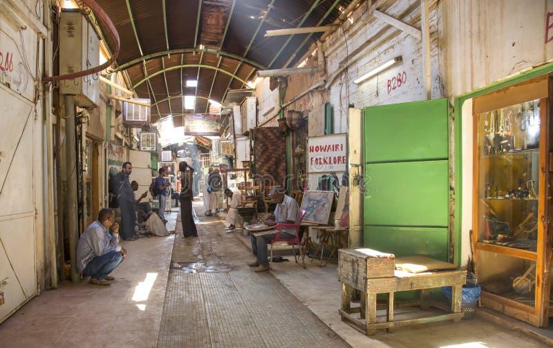 Суданский рынок в Хартуме стоковое изображение