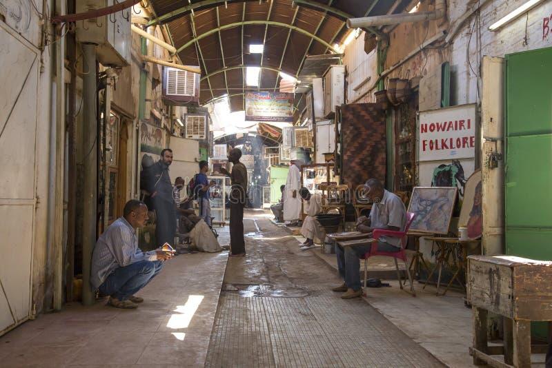 Суданский рынок в Хартуме стоковое фото