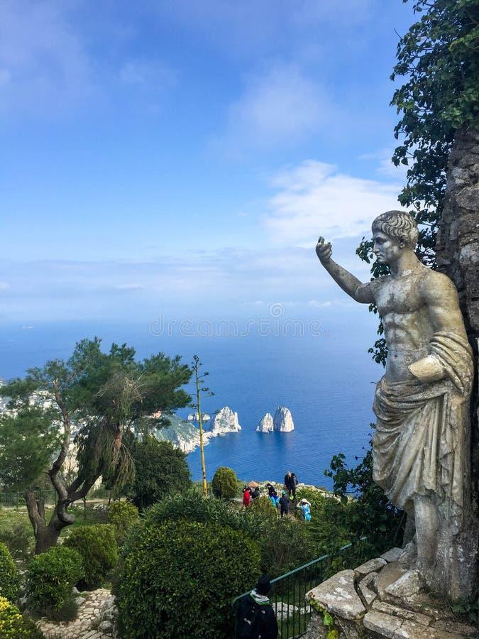 Статуя императора Augustus стоковая фотография