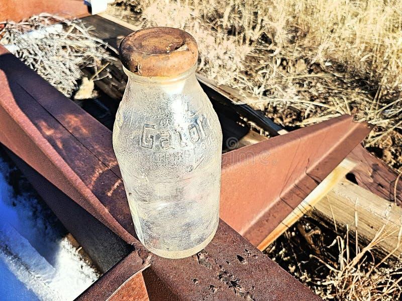 Старая бутылка gatorade стоковые изображения