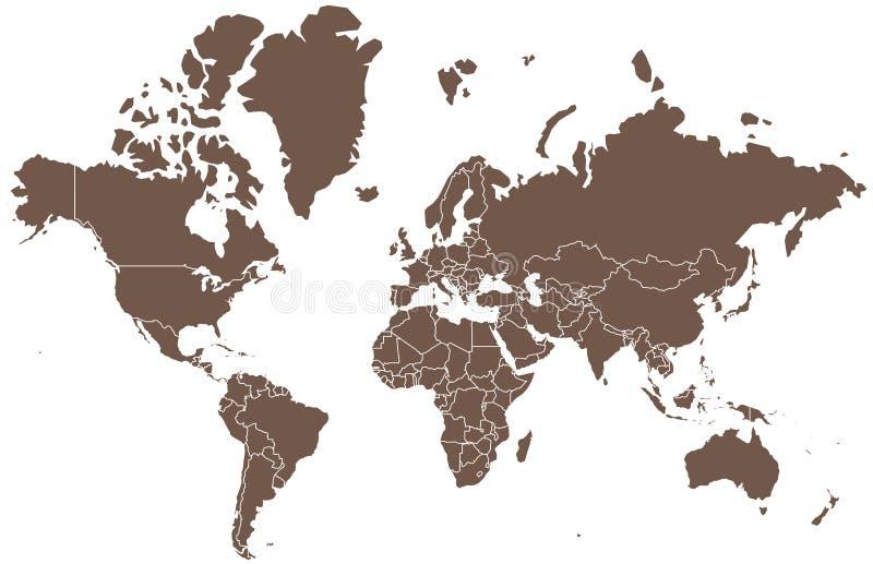 Старый Мир карты иллюстрации