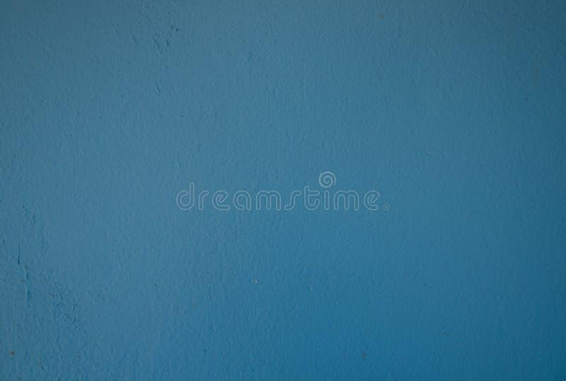Старый свет поверхности стены - голубой стоковая фотография rf