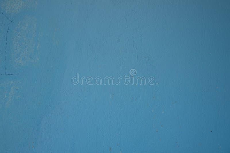 Старый свет поверхности стены - голубой стоковое фото
