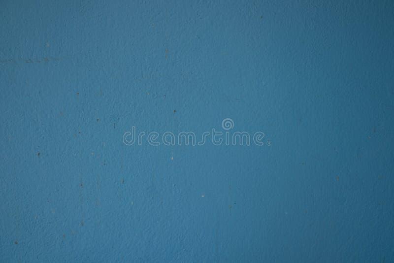 Старый свет поверхности стены - голубой стоковые изображения rf