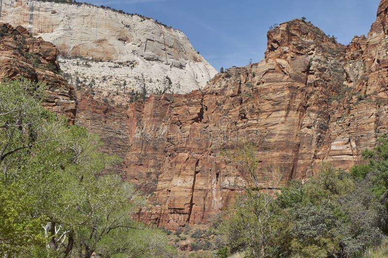 Стены каньона стоковое фото