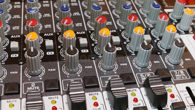 Студия звукозаписи 2 стоковые фото