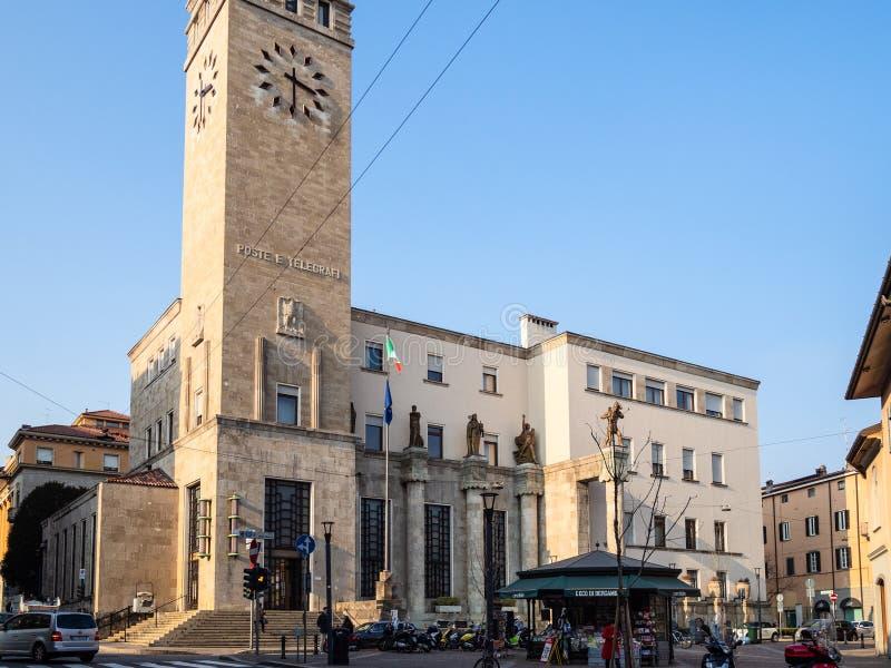Столб delle Palazzo дворца столба и телеграфа стоковое фото