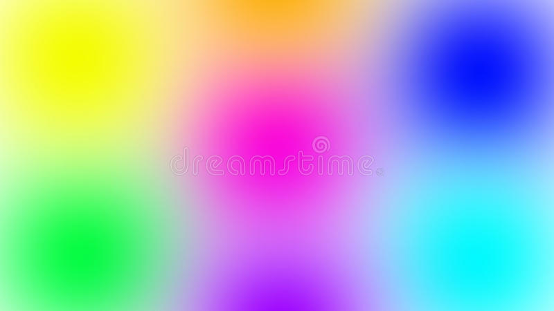 Ð¡olored spots royalty free stock image