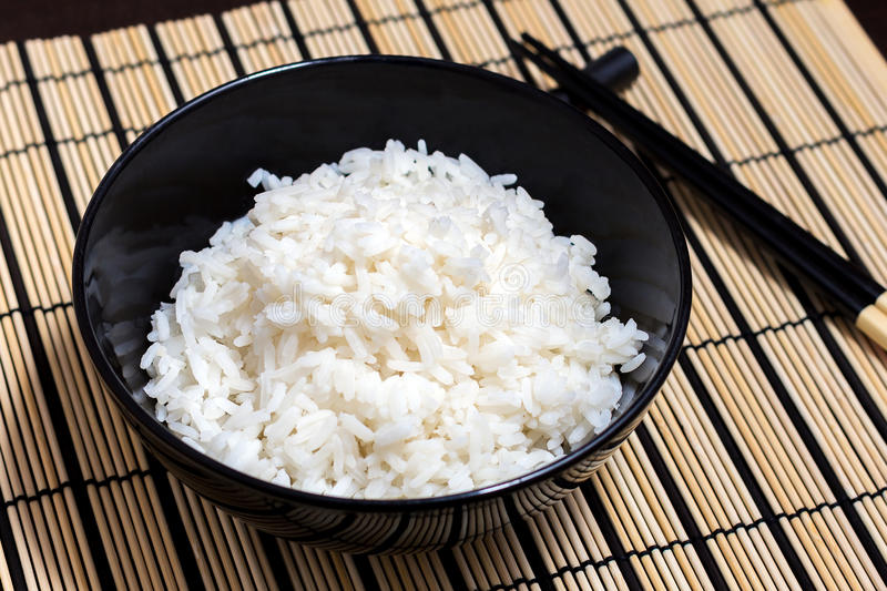 Ð¡ooked rice royalty free stock photo