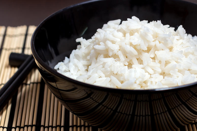 Ð¡ooked rice stock image