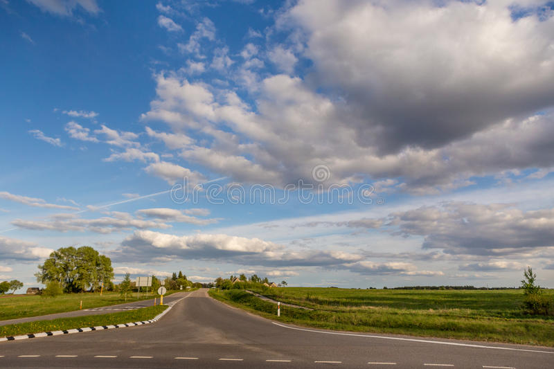 Ð¡rossroad royalty free stock images
