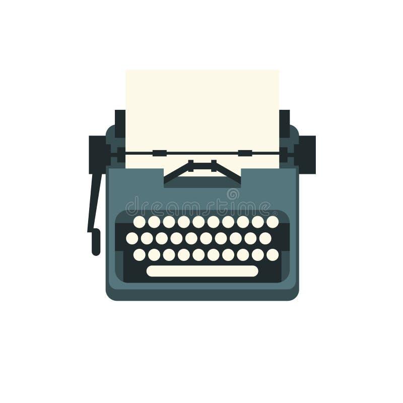 Экземпляр Typewriter-2 иллюстрация штока