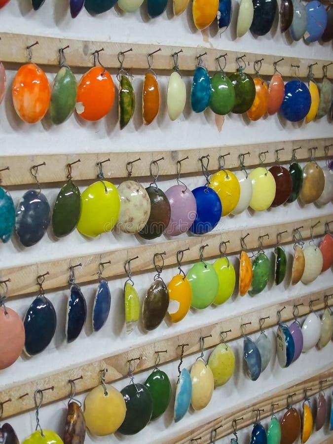 Экспо и демонстрация цвета Cereamic типы цветов к сделанный керамический бесплатная иллюстрация