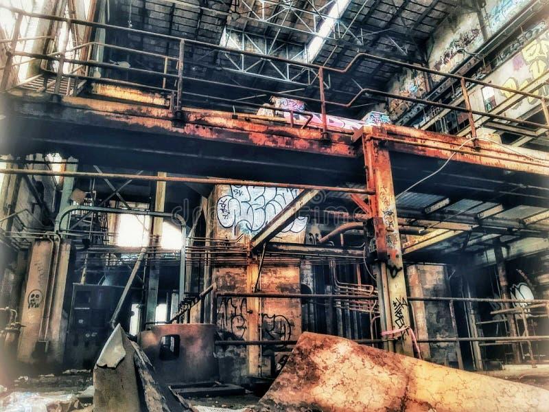 Электростанция Нового Орлеана улицы рынка стоковые фото