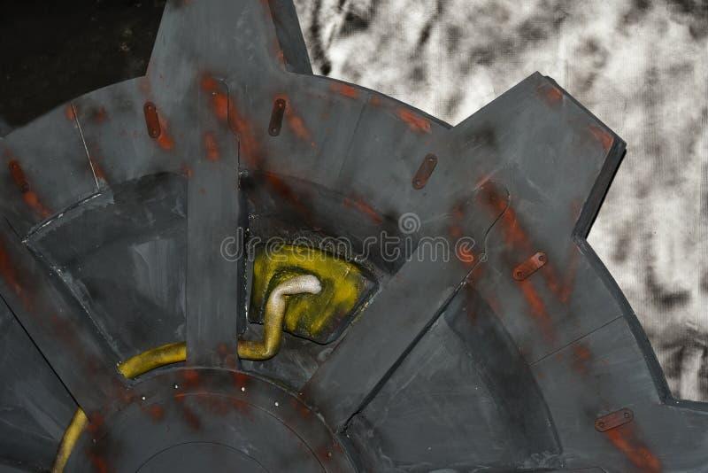 Элемент реактора радиации в компютерной игре стоковые изображения
