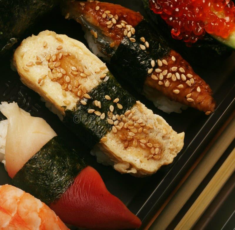 японские суши традиционные стоковое фото rf