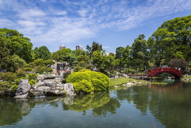 Японский сад, Буэнос-Айрес, Аргентина стоковая фотография rf