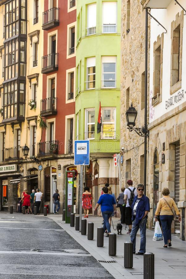 Улица города стоковое фото rf