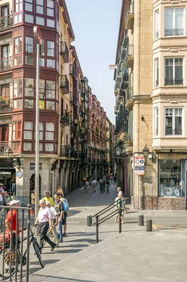 Улица города стоковое фото