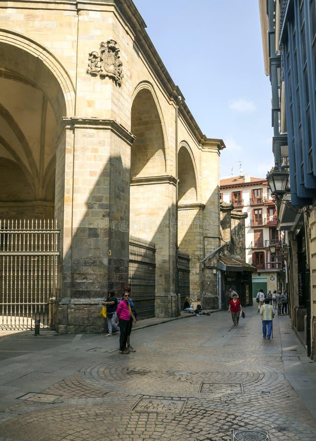 Улица города стоковая фотография