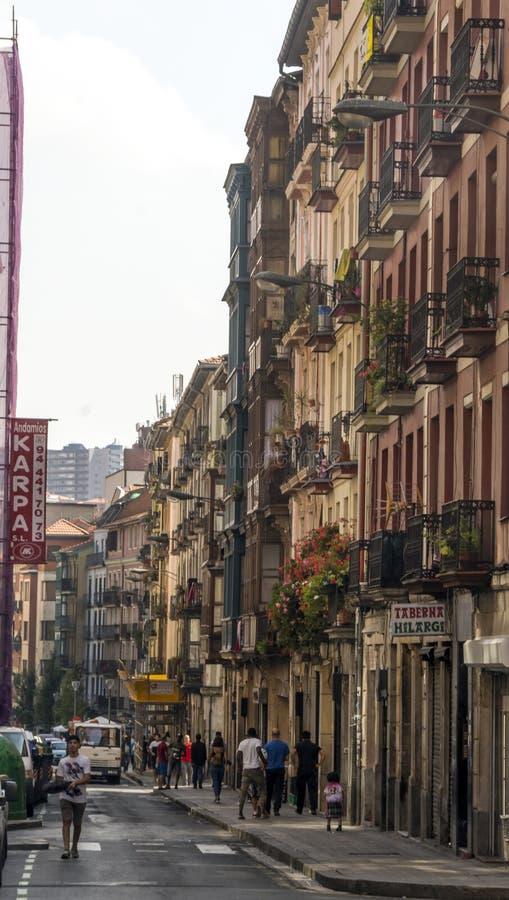 Улица города стоковая фотография rf