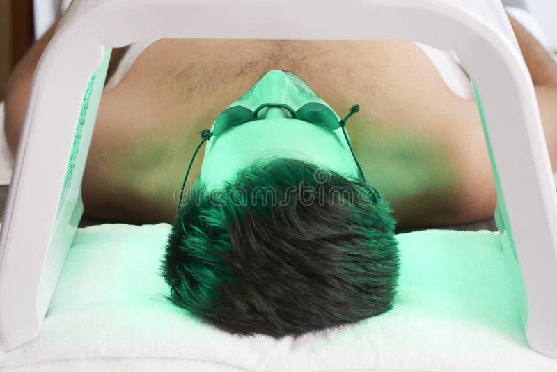 Ультрафиолетов процедура для стороны стоковое изображение rf