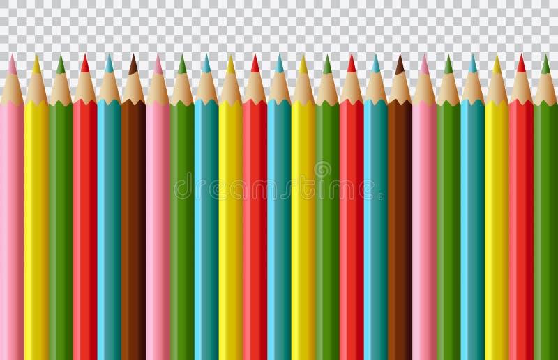 Установите поставок канцелярских принадлежностей вектора плоского дизайна красочных изолированных на белой предпосылке иллюстрация штока