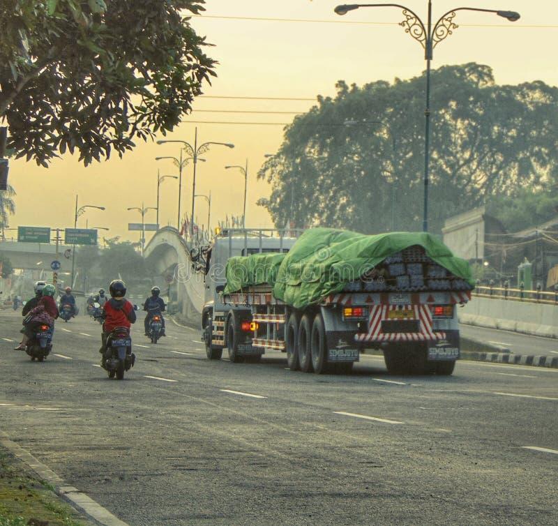 Утро в Yogyakarta стоковое изображение rf
