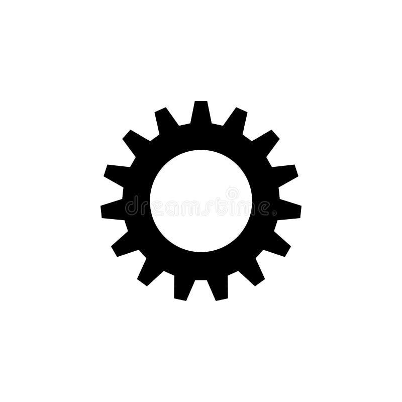 Шестерня, варианты, предпочтения, установки, значок инструментов Знаки и символы можно использовать для сети, логотипа, мобильног бесплатная иллюстрация