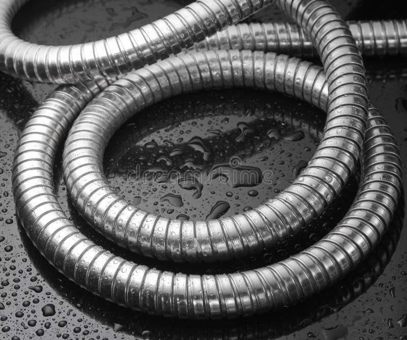 Шланг ливня металла иллюстрация вектора