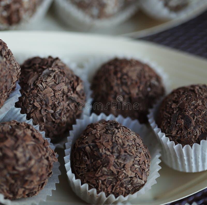 шоколады handmade стоковая фотография rf