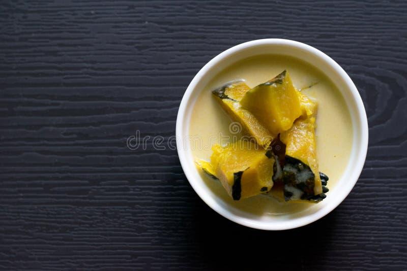 Тайский традиционный или тайский десерт стоковое фото