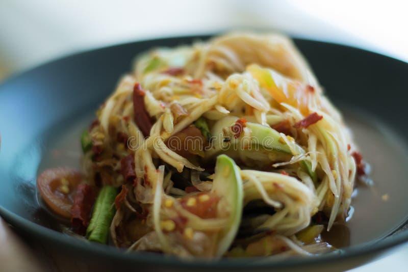 Тайское традиционное или Тайская кухня стоковое фото rf