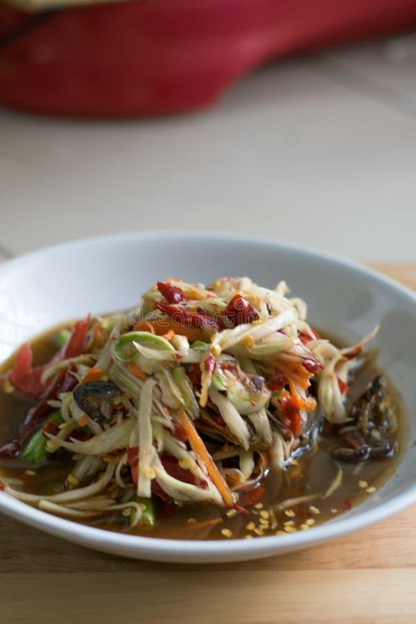 Тайское традиционное или Тайская кухня стоковое изображение rf