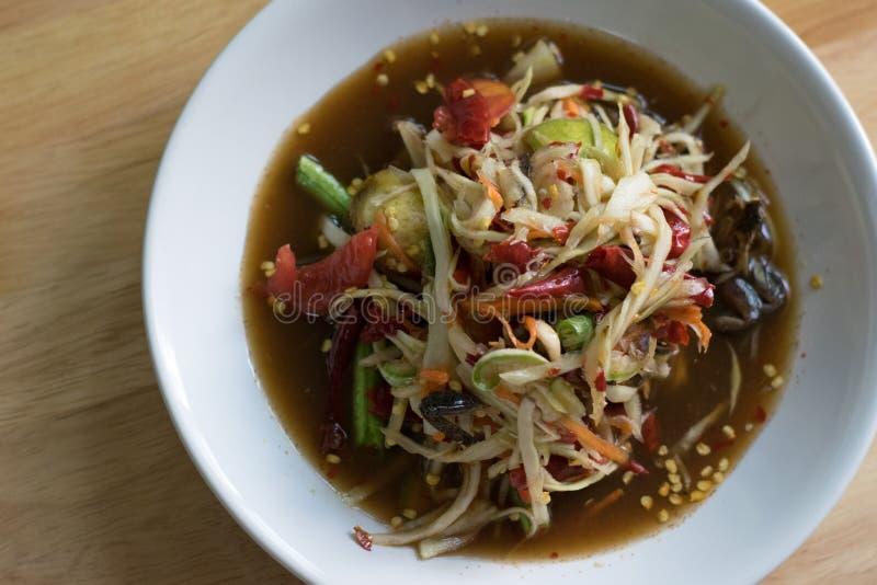 Тайское традиционное или Тайская кухня стоковое изображение