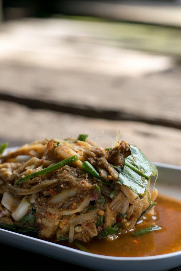 Тайское традиционное или Тайская кухня стоковая фотография rf