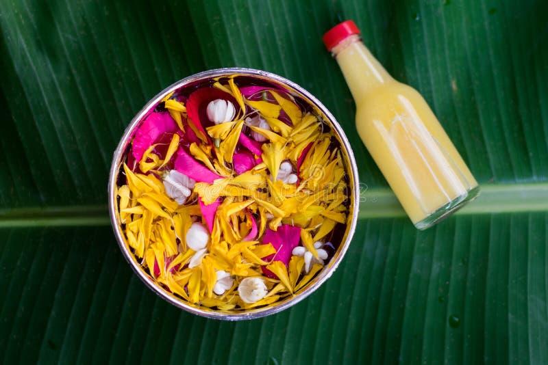 Тайское традиционное для фестиваля Songkran стоковое изображение