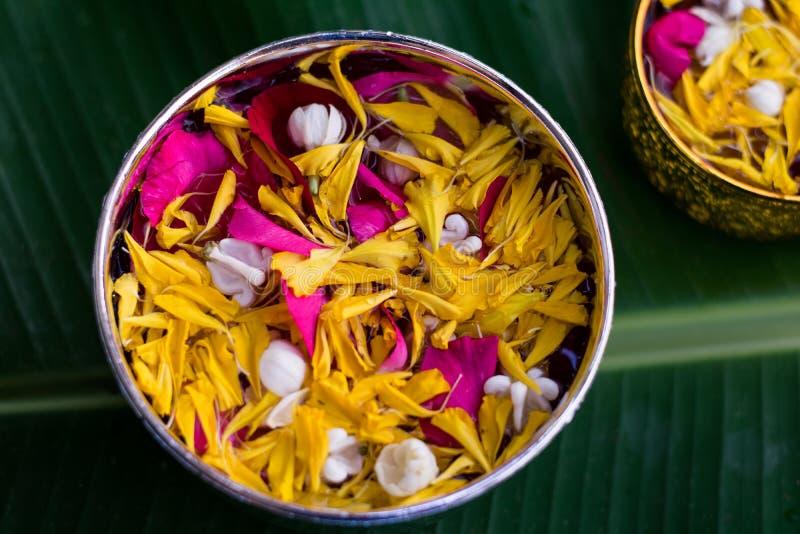 Тайское традиционное для фестиваля Songkran стоковые изображения