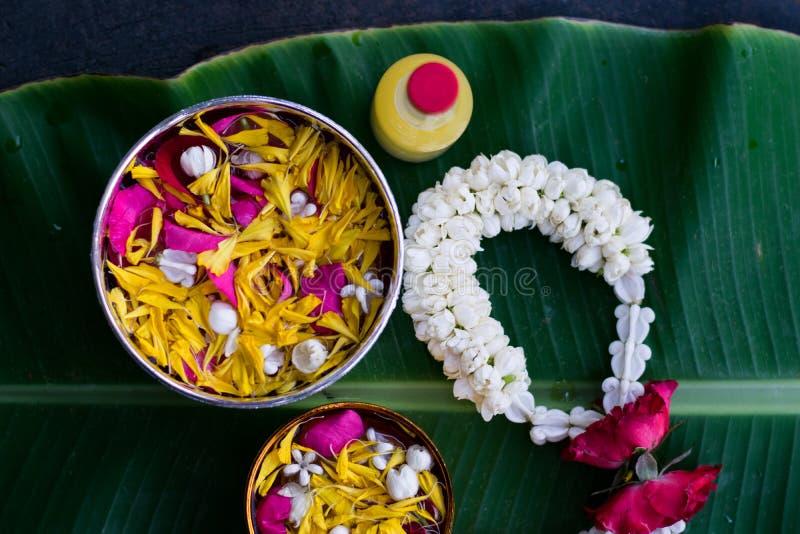 Тайское традиционное для фестиваля Songkran стоковое фото