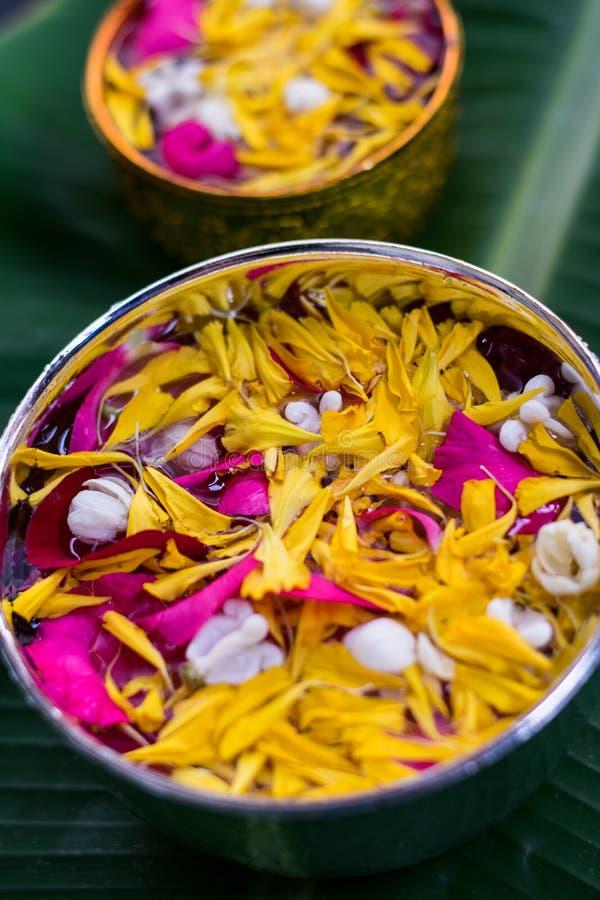 Тайское традиционное для фестиваля Songkran стоковое фото rf