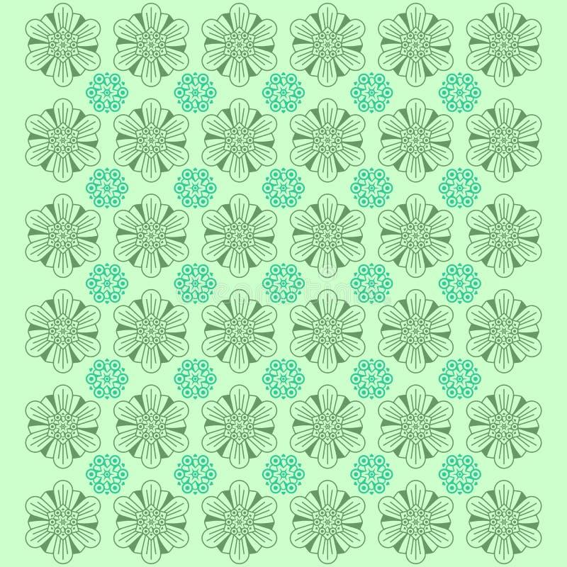 Творческая предпосылка картины цветка - вектор иллюстрация вектора